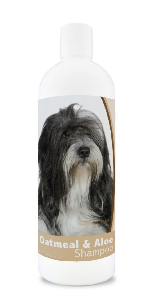 Healthy Breeds 840235110460 16 oz Lhasa Apso Oatmeal Shampoo with Aloe