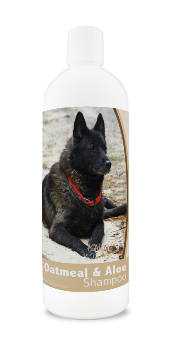 Healthy Breeds 840235111450 16 oz Norwegian Elkhound Oatmeal Shampoo with Aloe