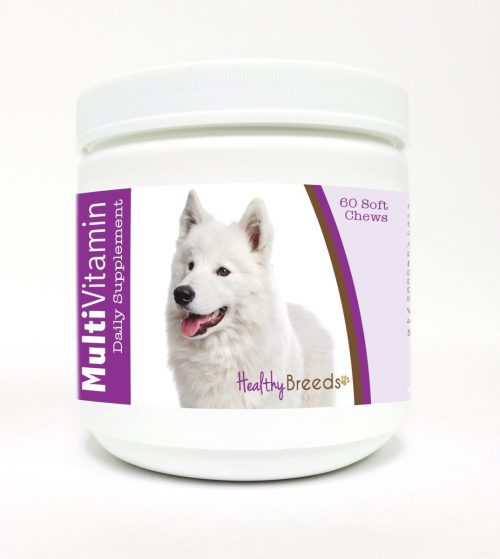 Healthy Breeds 840235113881 Samoyed Multi-Vitamin Soft Chews - 60 Count