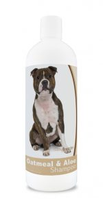 Healthy Breeds 840235115151 16 oz Staffordshire Bull Terrier Oatmeal Shampoo with Aloe