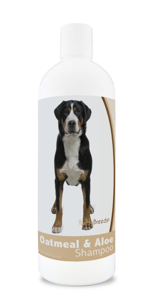 Healthy Breeds 840235115588 16 oz Greater Swiss Mountain Dog Oatmeal Shampoo with Aloe