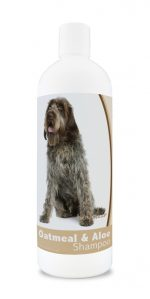 Healthy Breeds 840235116226 16 oz Wirehaired Pointing Griffon Oatmeal Shampoo with Aloe