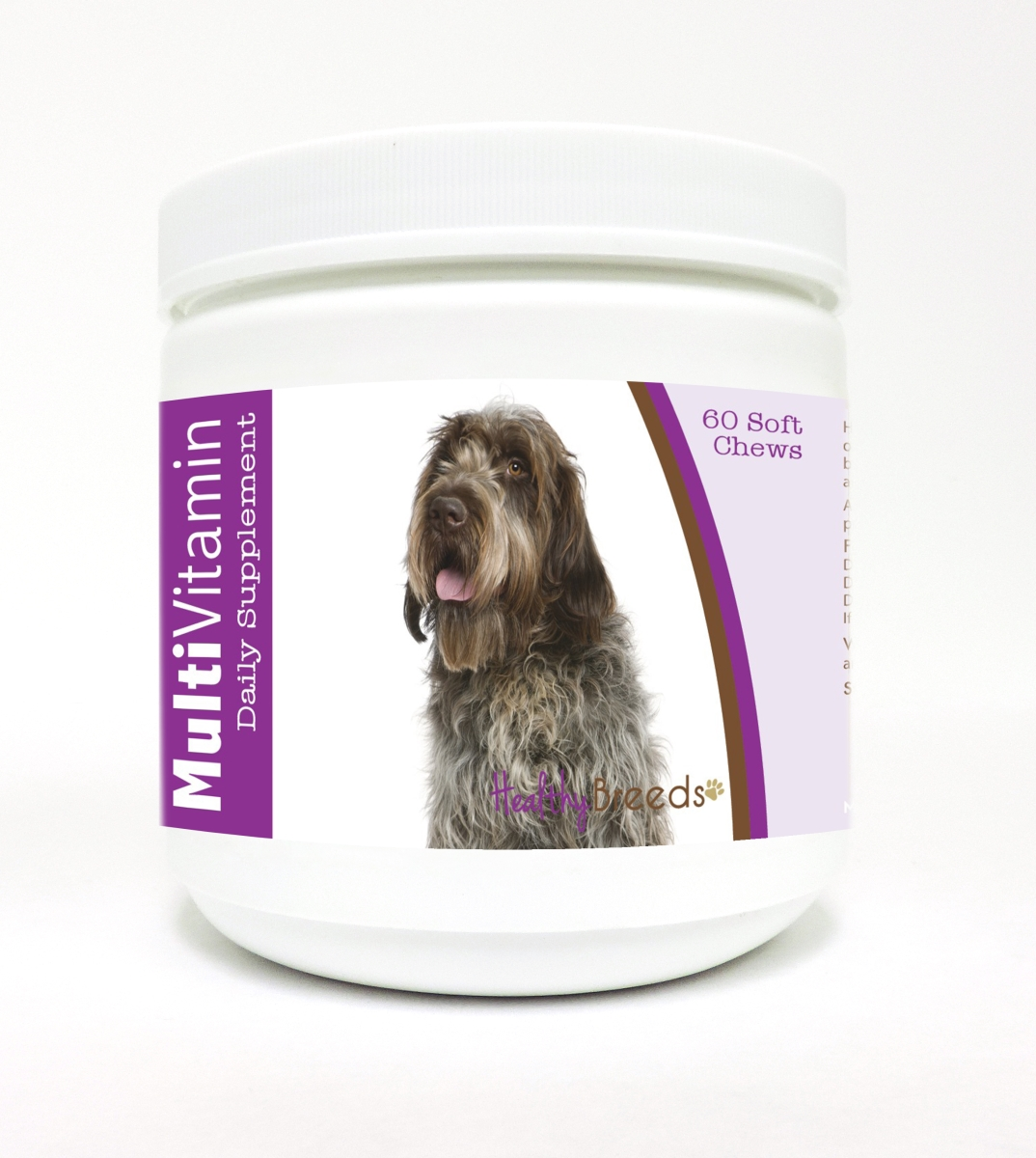 Healthy Breeds 840235116301 Wirehaired Pointing Griffon Multi-Vitamin Soft Chews - 60 Count