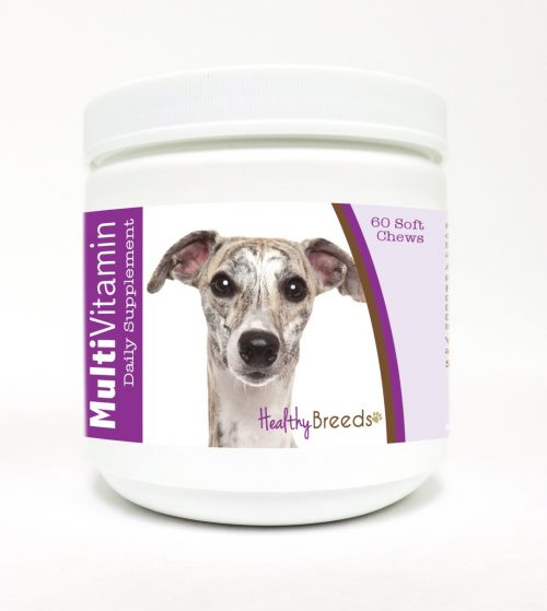 Healthy Breeds 840235116462 Whippet Multi-Vitamin Soft Chews - 60 Count