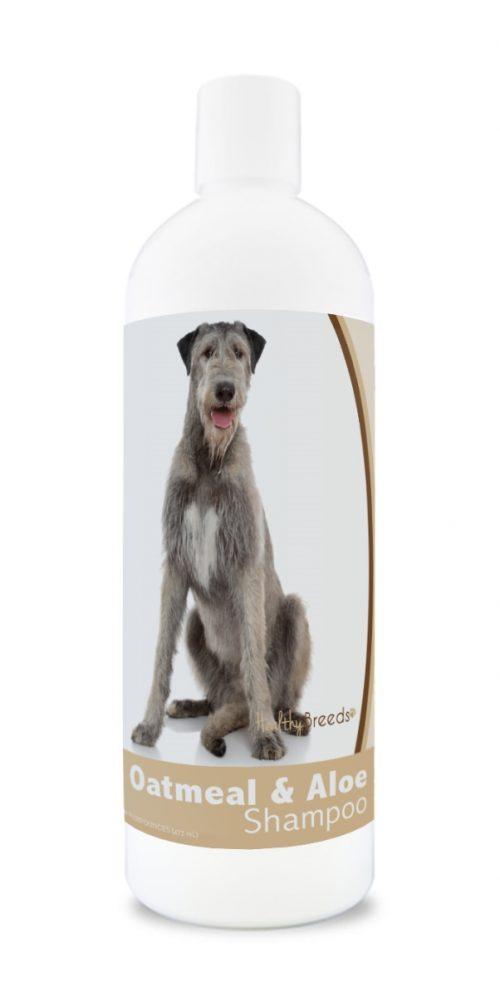 Healthy Breeds 840235116653 16 oz Irish Wolfhound Oatmeal Shampoo with Aloe