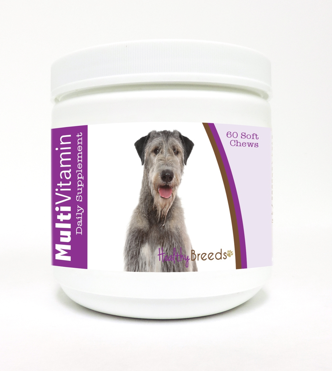 Healthy Breeds 840235116769 Irish Wolfhound Multi-Vitamin Soft Chews - 60 Count