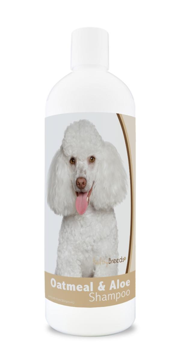 Healthy Breeds 840235117902 16 oz Toy Poodle Oatmeal Shampoo with Aloe