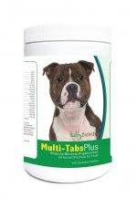 Healthy Breeds 840235122555 Staffordshire Bull Terrier Multi-Tabs Plus Chewable Tablets - 365 Count