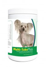 Healthy Breeds 840235122579 Chinese Crested Multi-Tabs Plus Chewable Tablets - 365 Count