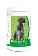 Healthy Breeds 840235123309 German Wirehaired Pointer Multi-Tabs Plus Chewable Tablets - 365 Count