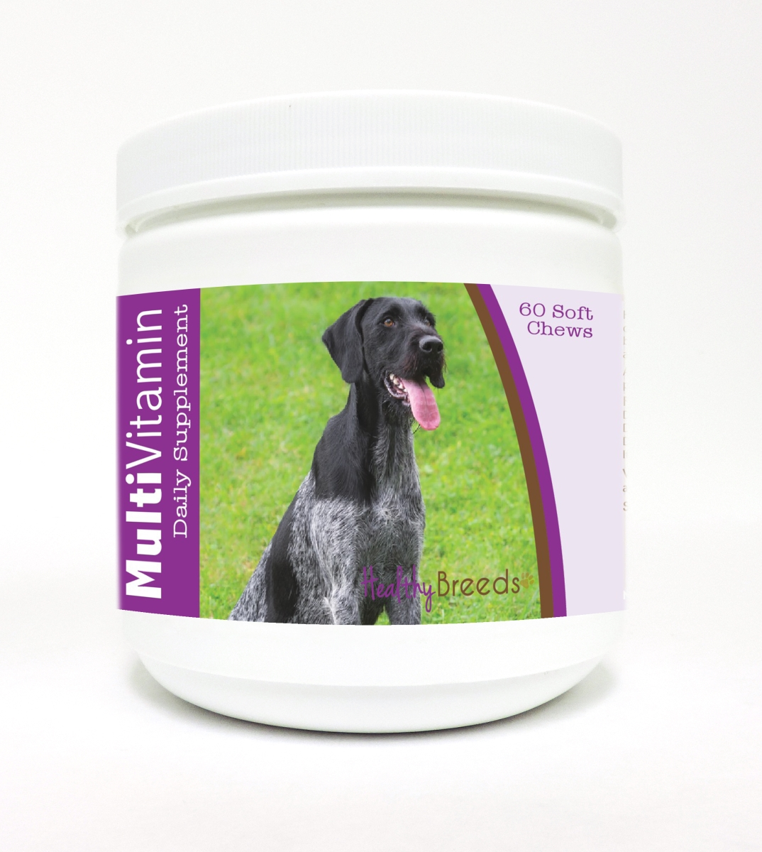 Healthy Breeds 840235136170 German Wirehaired Pointer Multi-Vitamin Soft Chews - 60 Count