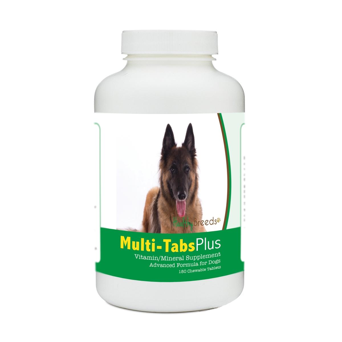 Healthy Breeds 840235139836 Belgian Tervuren Multi-Tabs Plus Chewable Tablets - 180 Count
