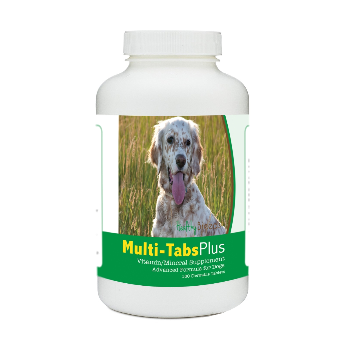 Healthy Breeds 840235140160 English Setter Multi-Tabs Plus Chewable Tablets - 180 Count