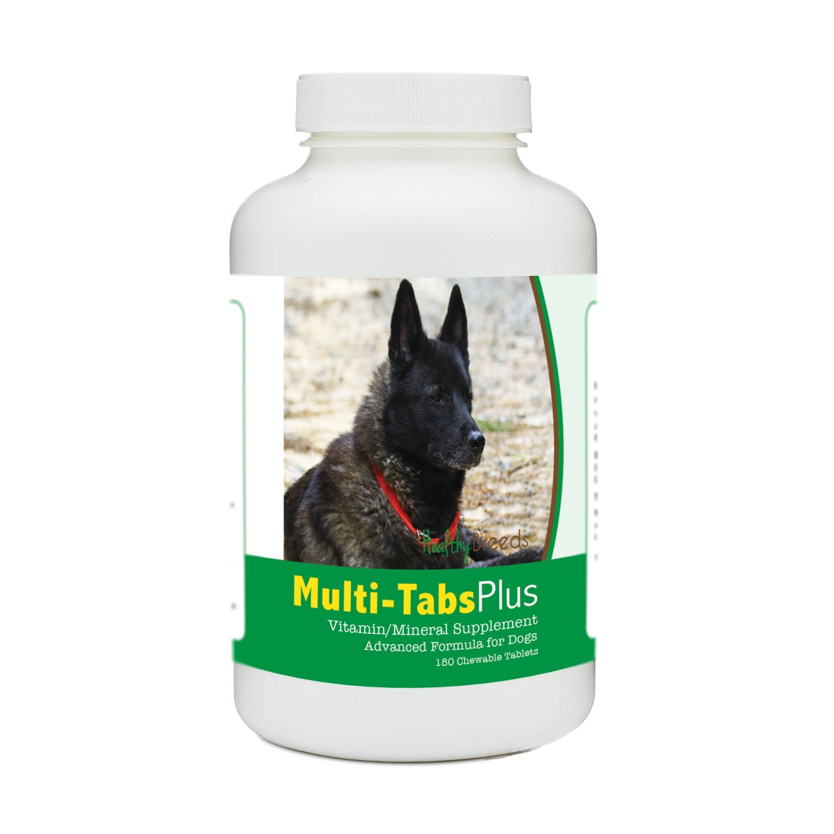 Healthy Breeds 840235140511 Norwegian Elkhound Multi-Tabs Plus Chewable Tablets - 180 Count