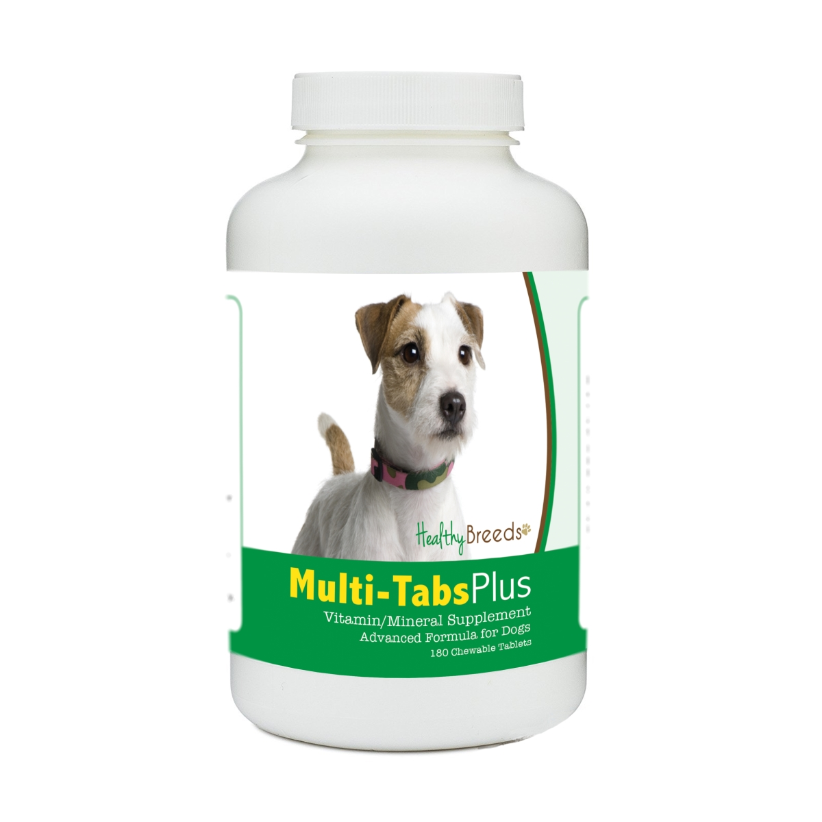 Healthy Breeds 840235140627 Parson Russell Terrier Multi-Tabs Plus Chewable Tablets - 180 Count