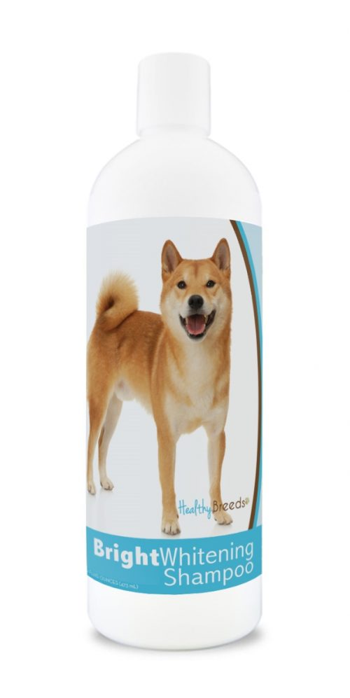 Healthy Breeds 840235169802 12 oz Shiba Inu Bright Whitening Shampoo