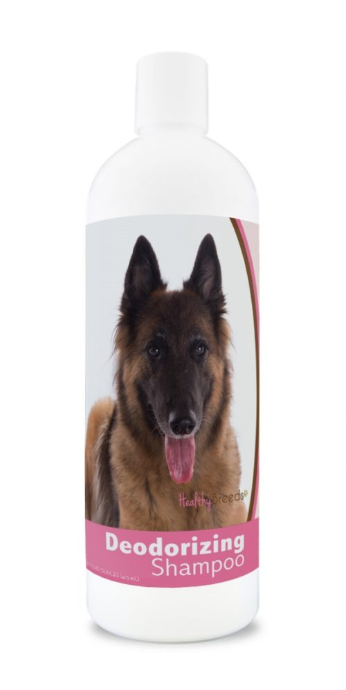 Healthy Breeds 840235169840 16 oz Belgian Tervuren Deodorizing Shampoo