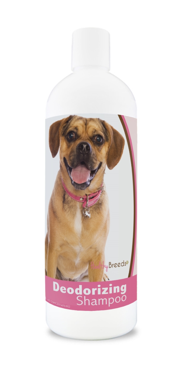 Healthy Breeds 840235169857 16 oz Puggle Deodorizing Shampoo