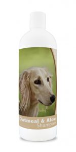 Healthy Breeds 840235169895 16 oz Saluki Oatmeal Shampoo with Aloe