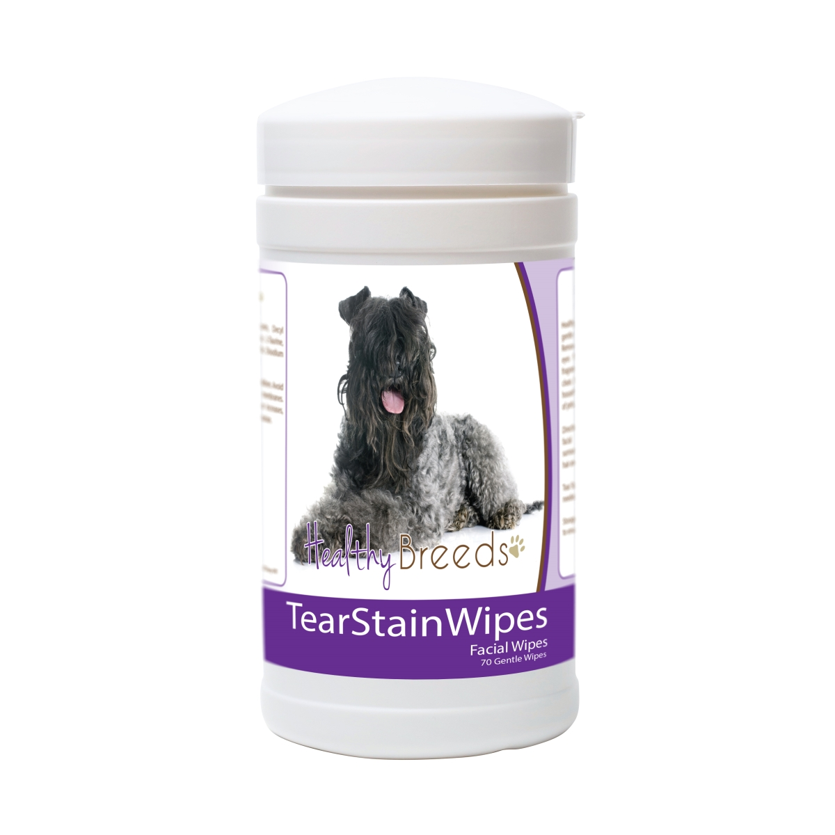 Healthy Breeds 840235171119 Kerry Blue Terrier Tear Stain Wipes - 70 Count