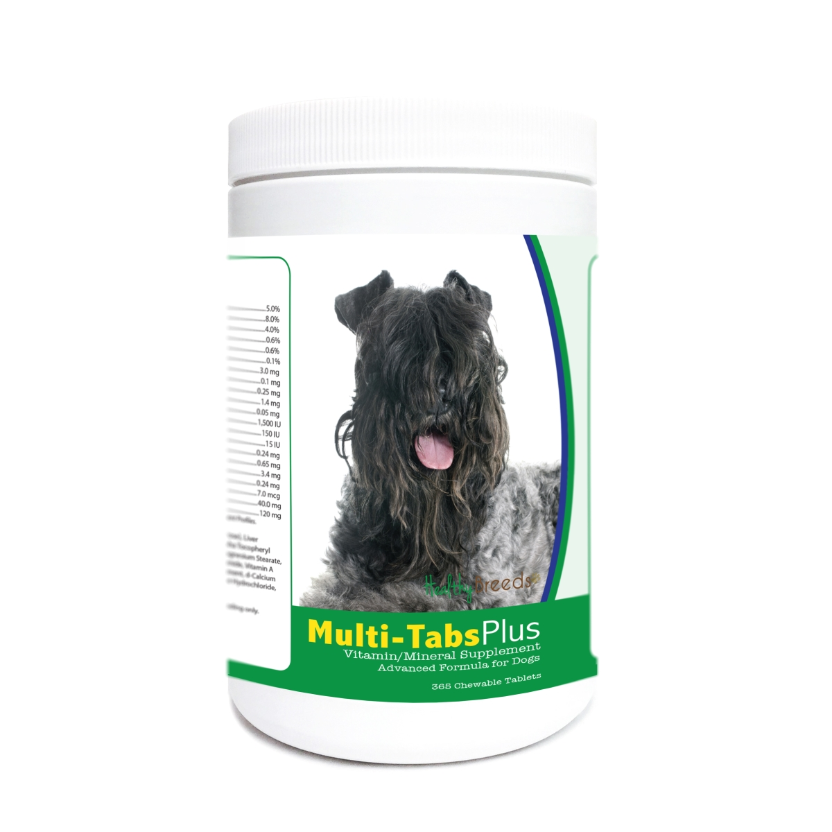 Healthy Breeds 840235171164 Kerry Blue Terrier Multi-Tabs Plus Chewable Tablets - 365 Count
