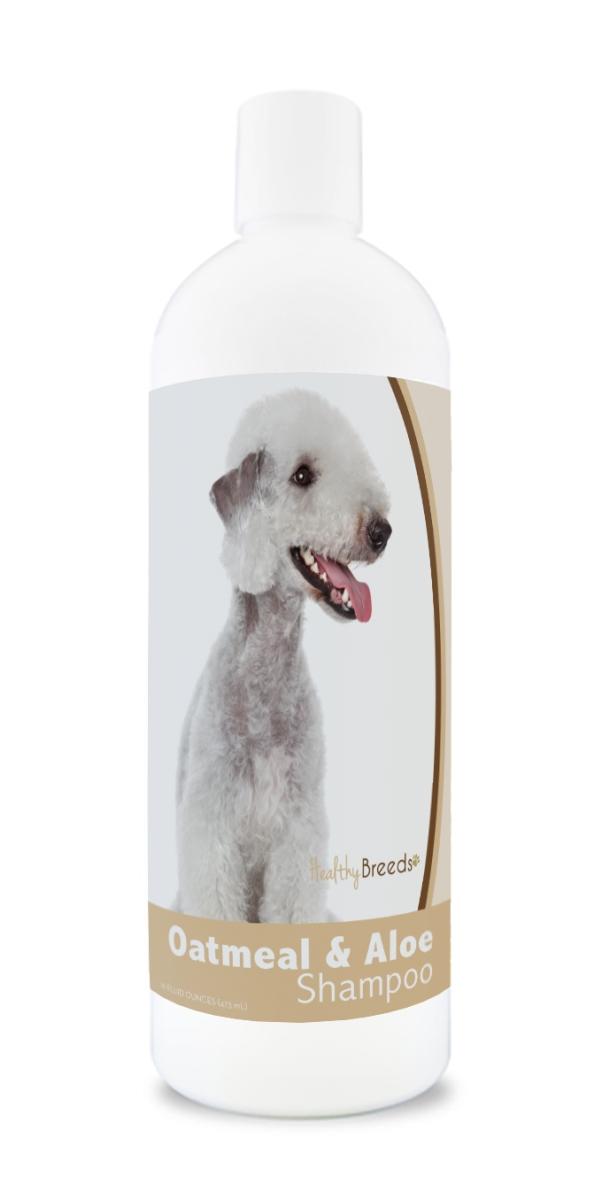 Healthy Breeds 840235171218 16 oz Bedlington Terrier Oatmeal Shampoo with Aloe