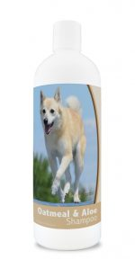 Healthy Breeds 840235171348 16 oz Norwegian Buhund Oatmeal Shampoo with Aloe