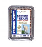 Healthy Breeds 840235171379 10 oz Norwegian Buhund All Natural Freeze Dried Treats Beef Liver