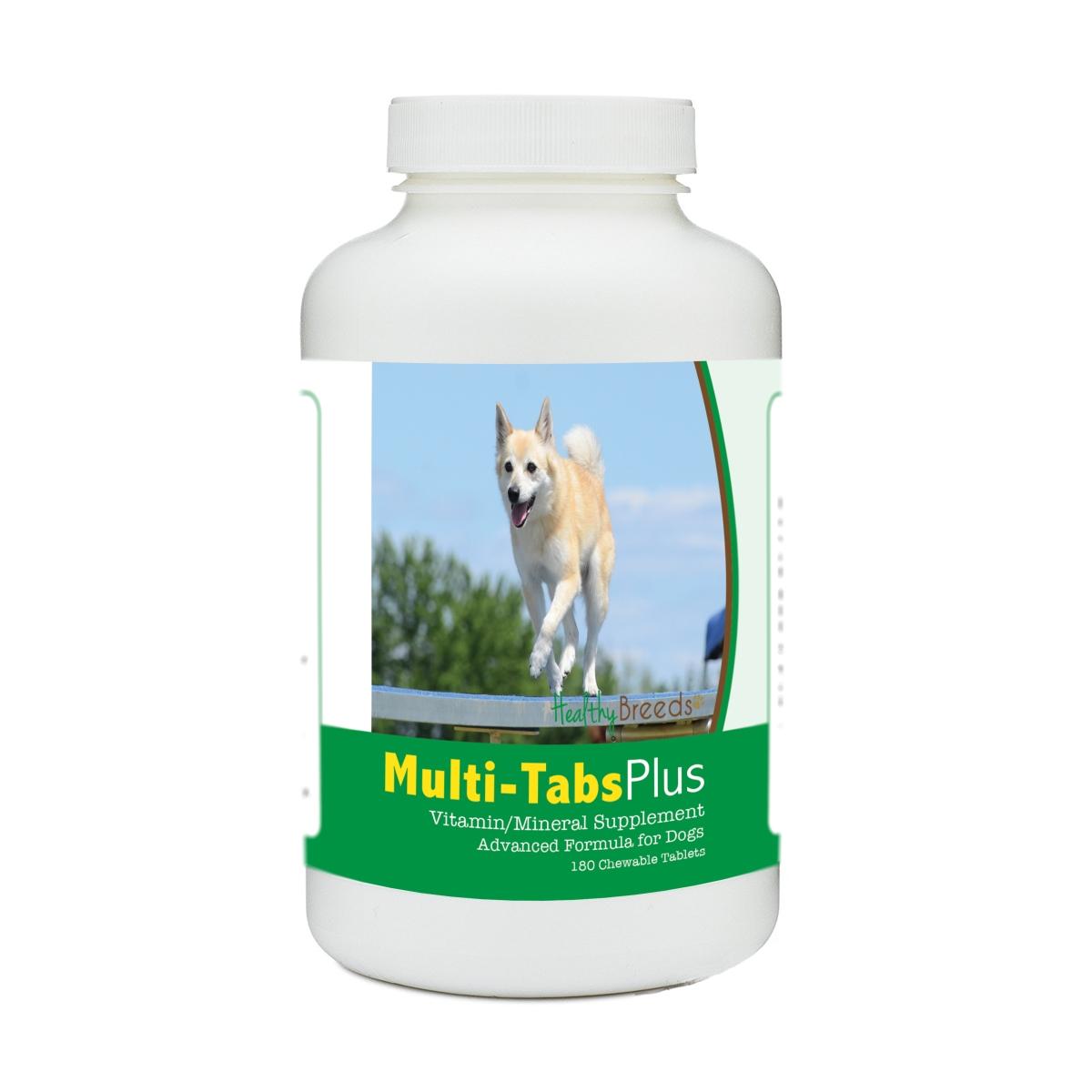Healthy Breeds 840235171386 Norwegian Buhund Multi-Tabs Plus Chewable Tablets - 180 Count