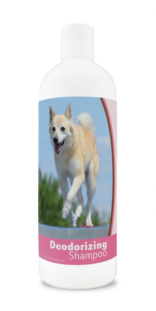 Healthy Breeds 840235171393 16 oz Norwegian Buhund Deodorizing Shampoo