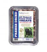 Healthy Breeds 840235171423 10 oz Affenpinscher All Natural Freeze Dried Treats Beef Liver