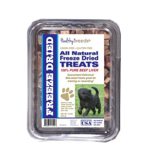 Healthy Breeds 840235171423 10 oz Affenpinscher All Natural Freeze Dried Treats Beef Liver