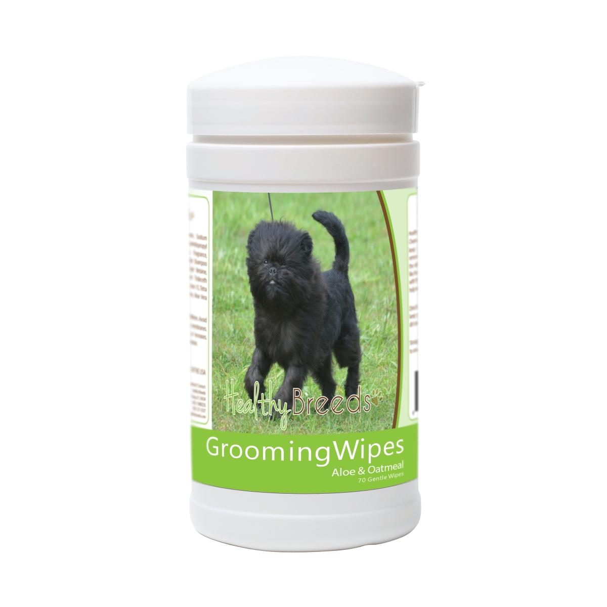 Healthy Breeds 840235171447 Affenpinscher Grooming Wipes - 70 Count