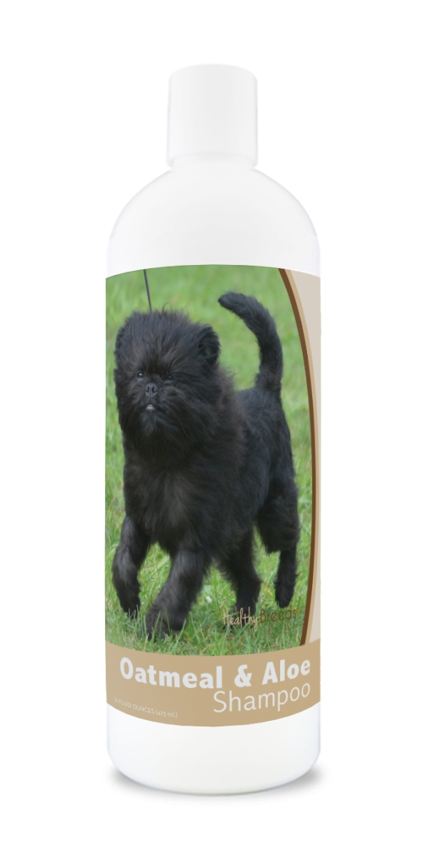 Healthy Breeds 840235171461 16 oz Affenpinscher Oatmeal Shampoo with Aloe