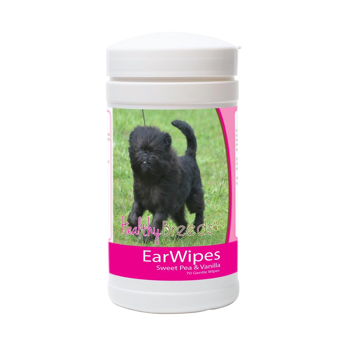 Healthy Breeds 840235171485 Affenpinscher Ear Wipes - 70 Count