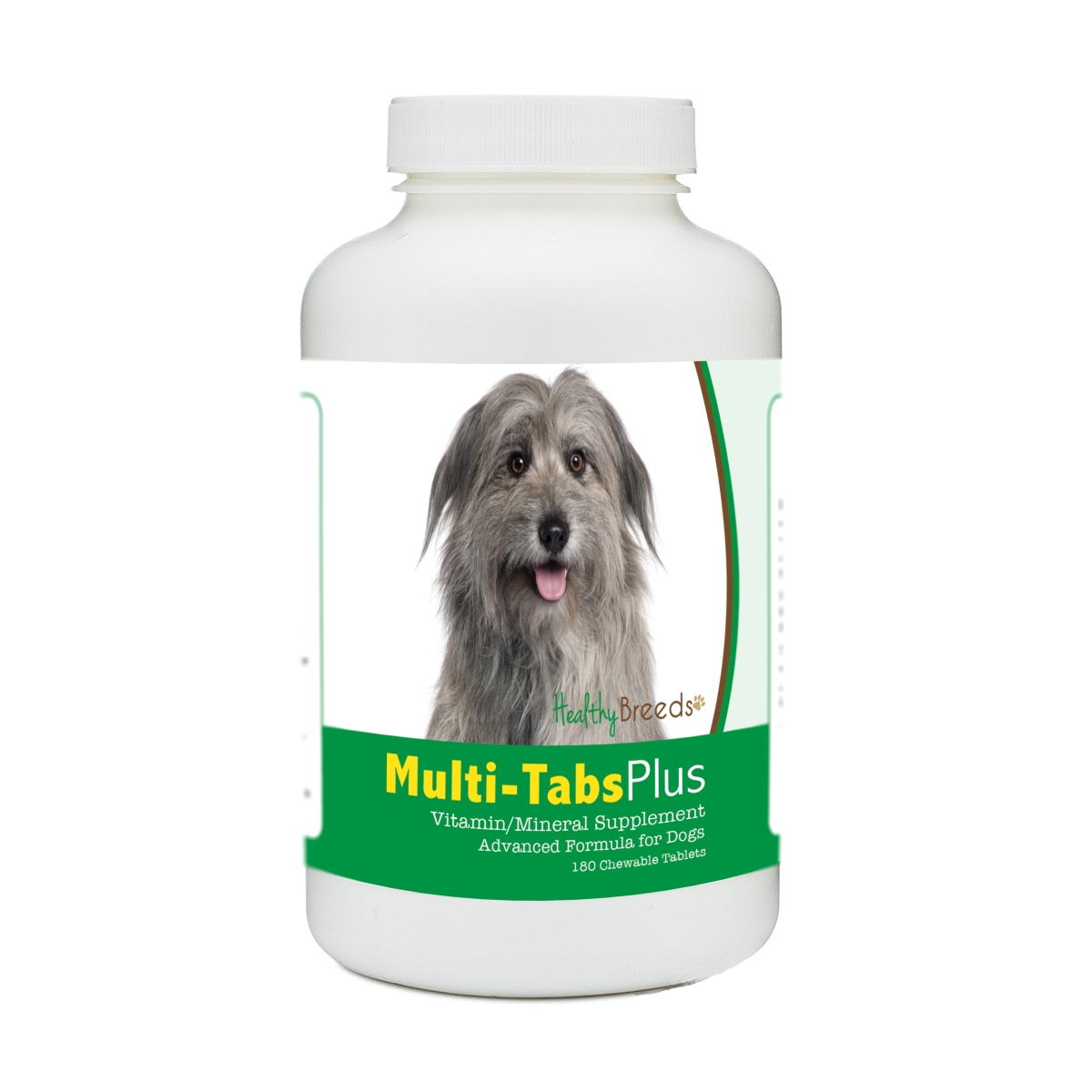 Healthy Breeds 840235171515 Pyrenean Shepherd Multi-Tabs Plus Chewable Tablets - 180 Count