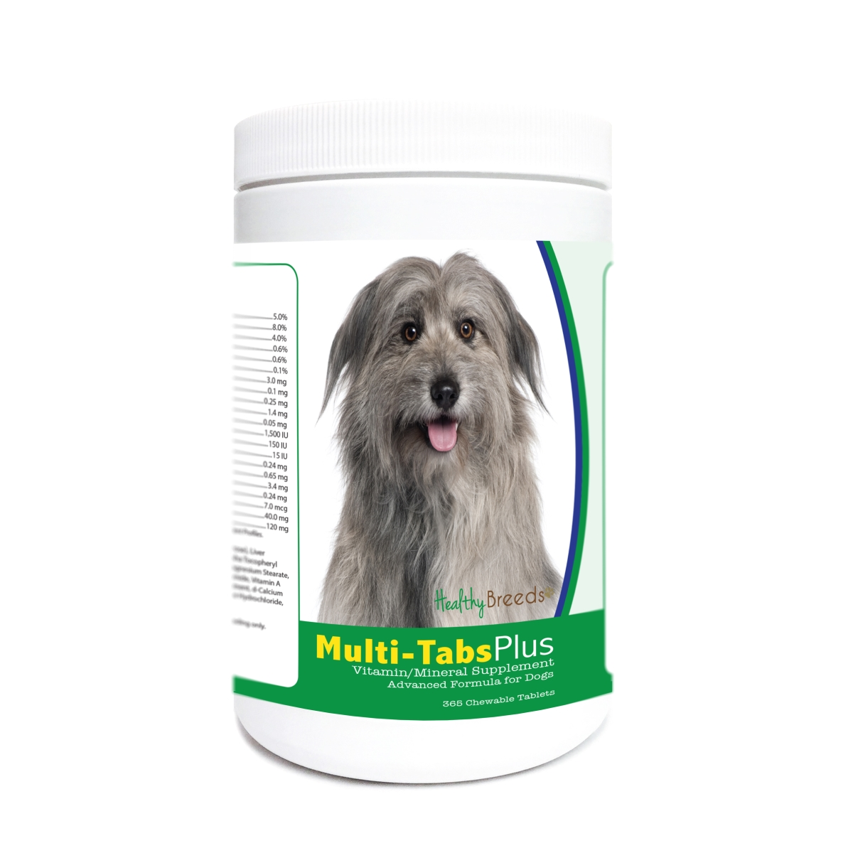 Healthy Breeds 840235171591 Pyrenean Shepherd Multi-Tabs Plus Chewable Tablets - 365 Count