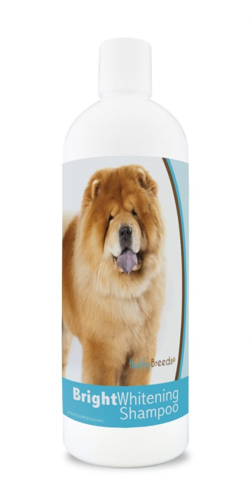 Healthy Breeds 840235171737 12 oz Chow Chow Bright Whitening Shampoo