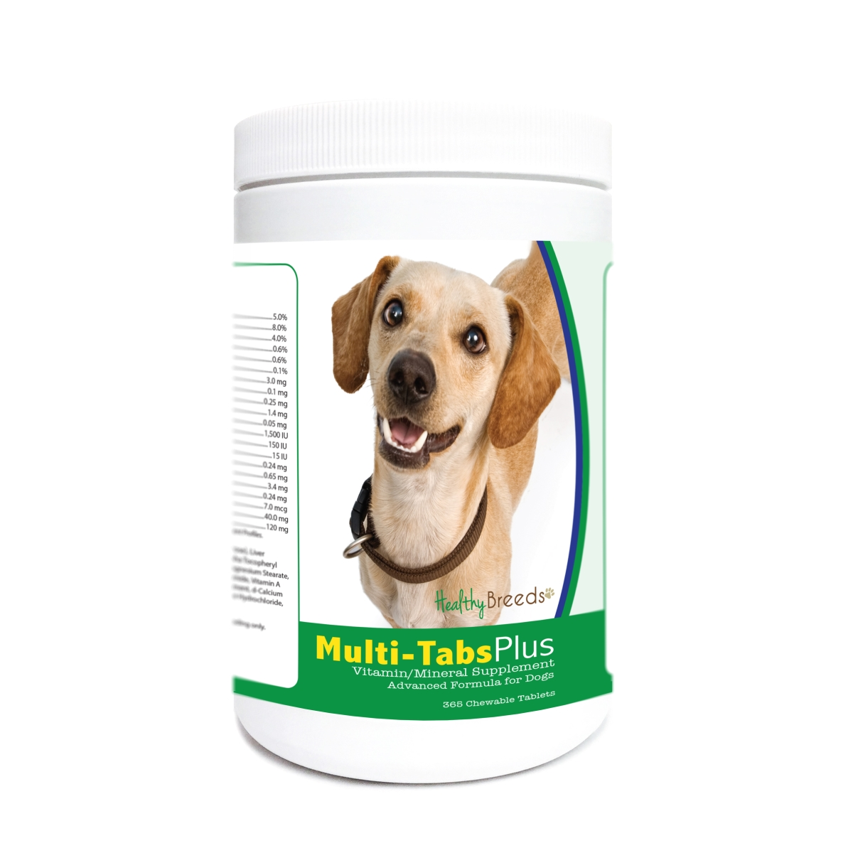 Healthy Breeds 840235171751 Chiweenie Multi-Tabs Plus Chewable Tablets - 365 Count