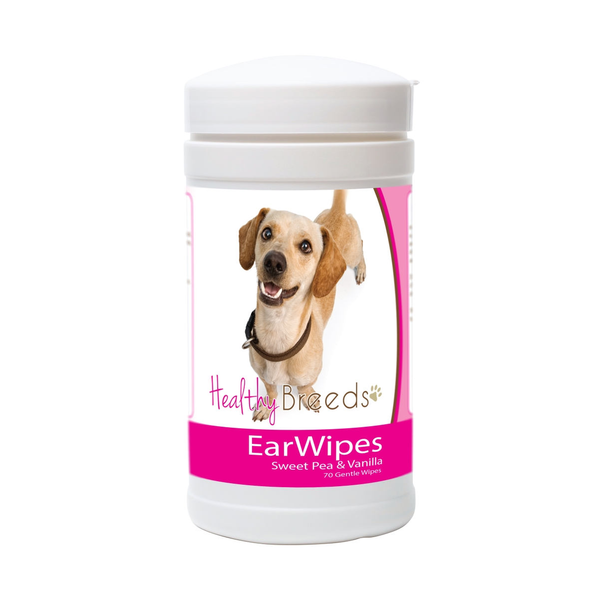 Healthy Breeds 840235171782 Chiweenie Ear Wipes - 70 Count