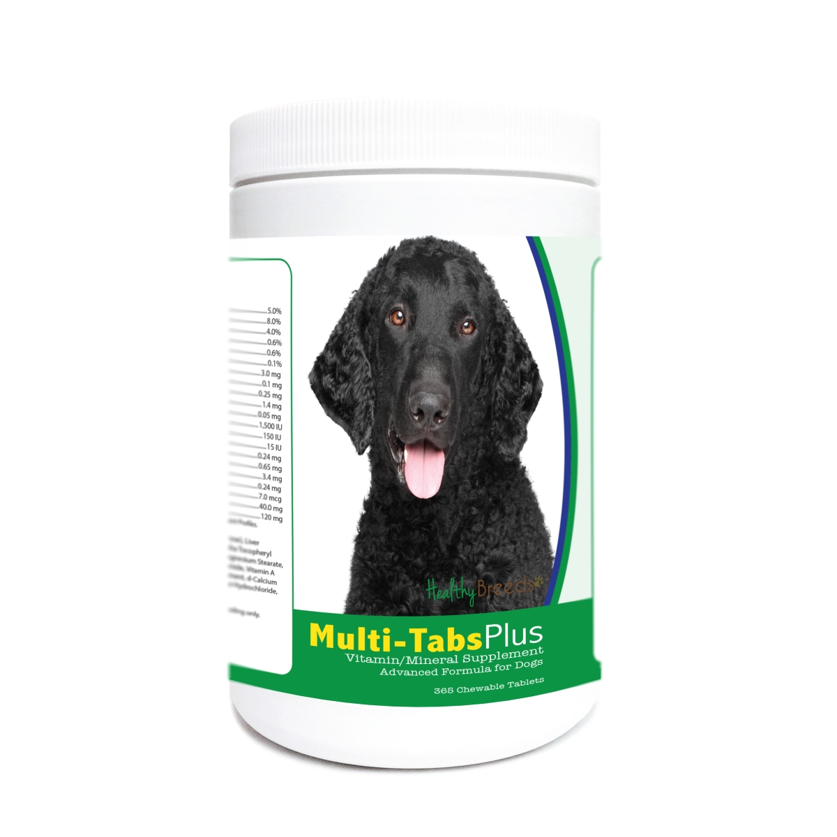 Healthy Breeds 840235171904 Curly-Coated Retriever Multi-Tabs Plus Chewable Tablets - 365 Count