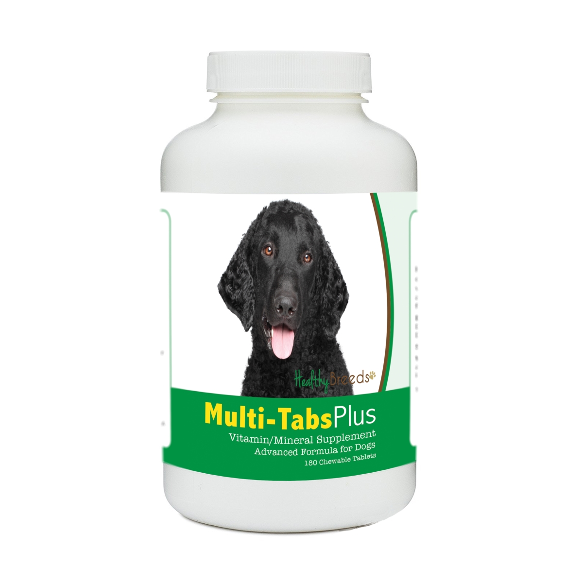 Healthy Breeds 840235171942 Curly-Coated Retriever Multi-Tabs Plus Chewable Tablets - 180 Count