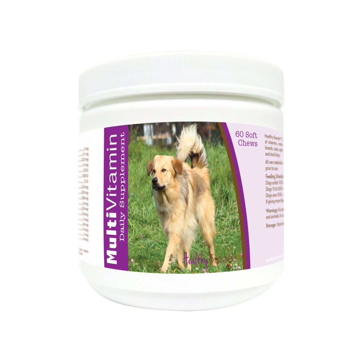 Healthy Breeds 840235171966 Chinook Multi-Vitamin Soft Chews - 60 Count