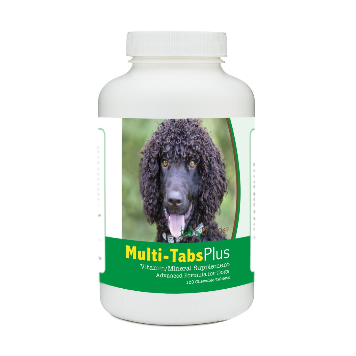 Healthy Breeds 840235172130 Irish Water Spaniel Multi-Tabs Plus Chewable Tablets - 180 Count