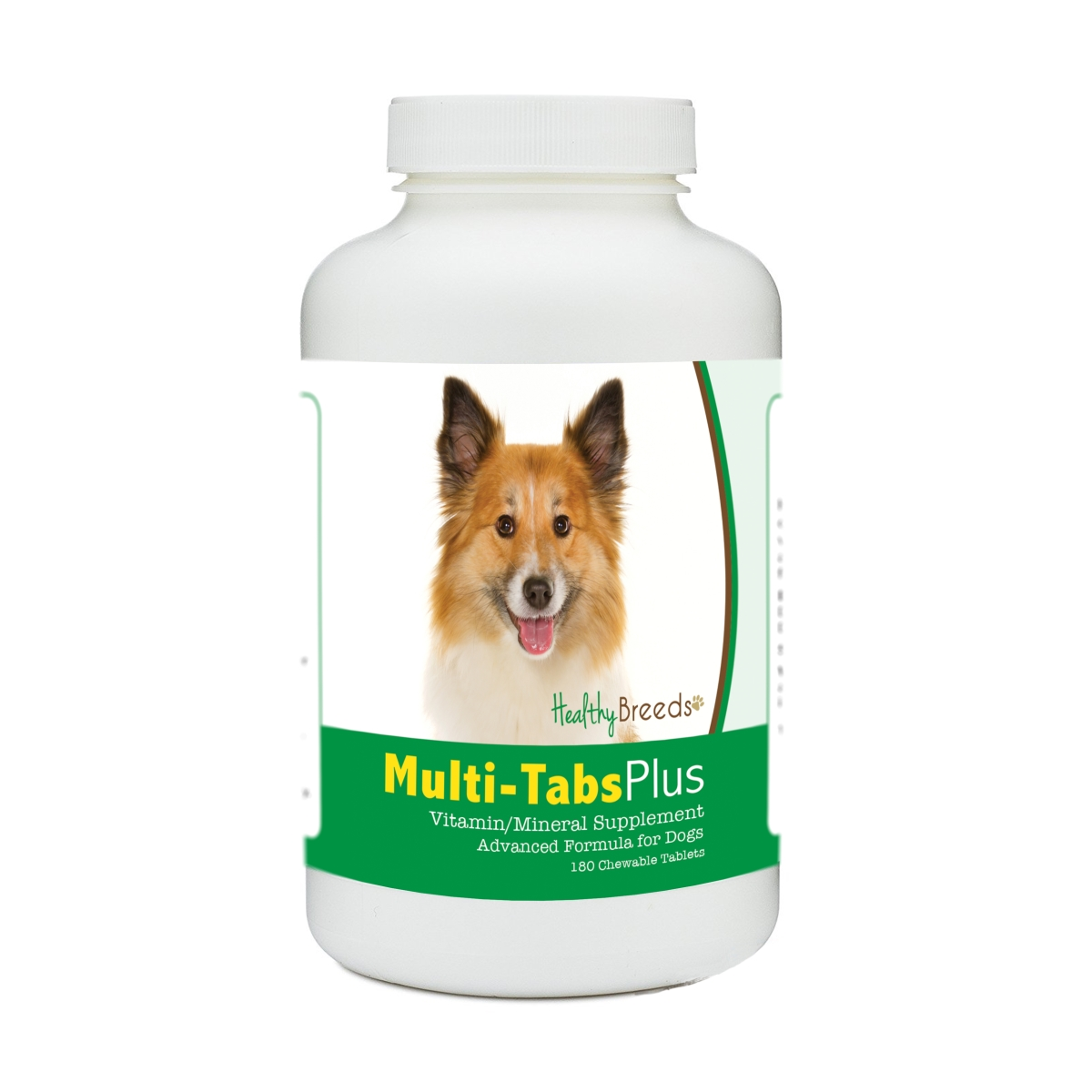 Healthy Breeds 840235172222 Icelandic Sheepdog Multi-Tabs Plus Chewable Tablets - 180 Count