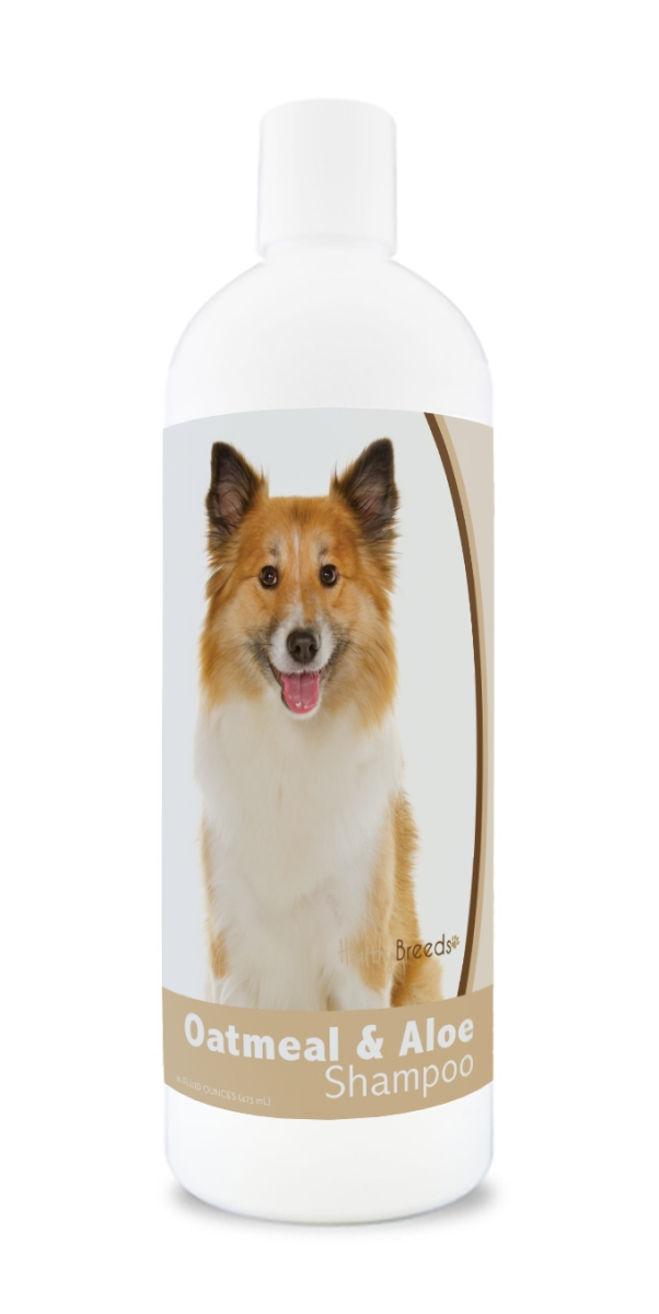 Healthy Breeds 840235172284 16 oz Icelandic Sheepdog Oatmeal Shampoo with Aloe