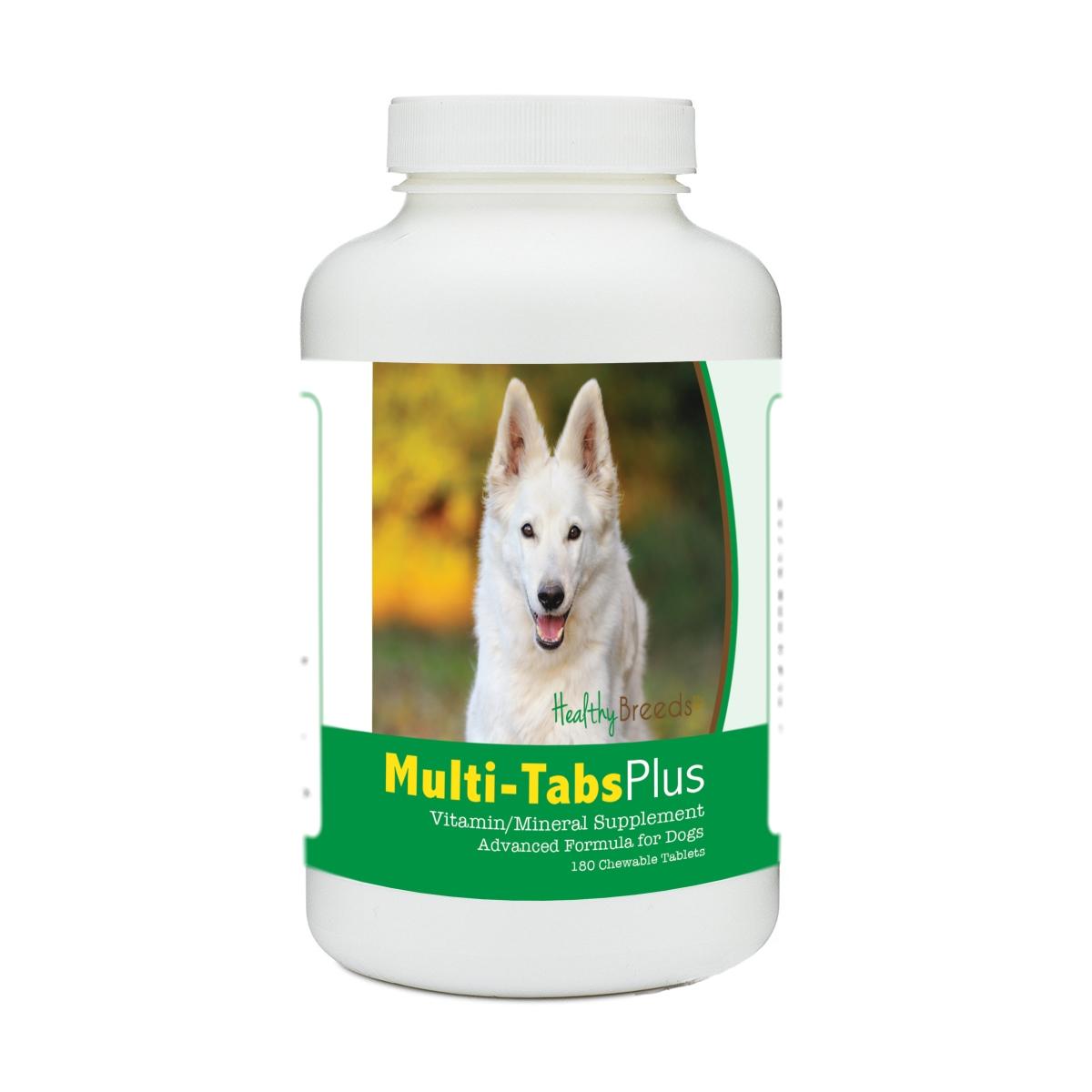 Healthy Breeds 840235172307 German Shepherd Multi-Tabs Plus Chewable Tablets - 180 Count