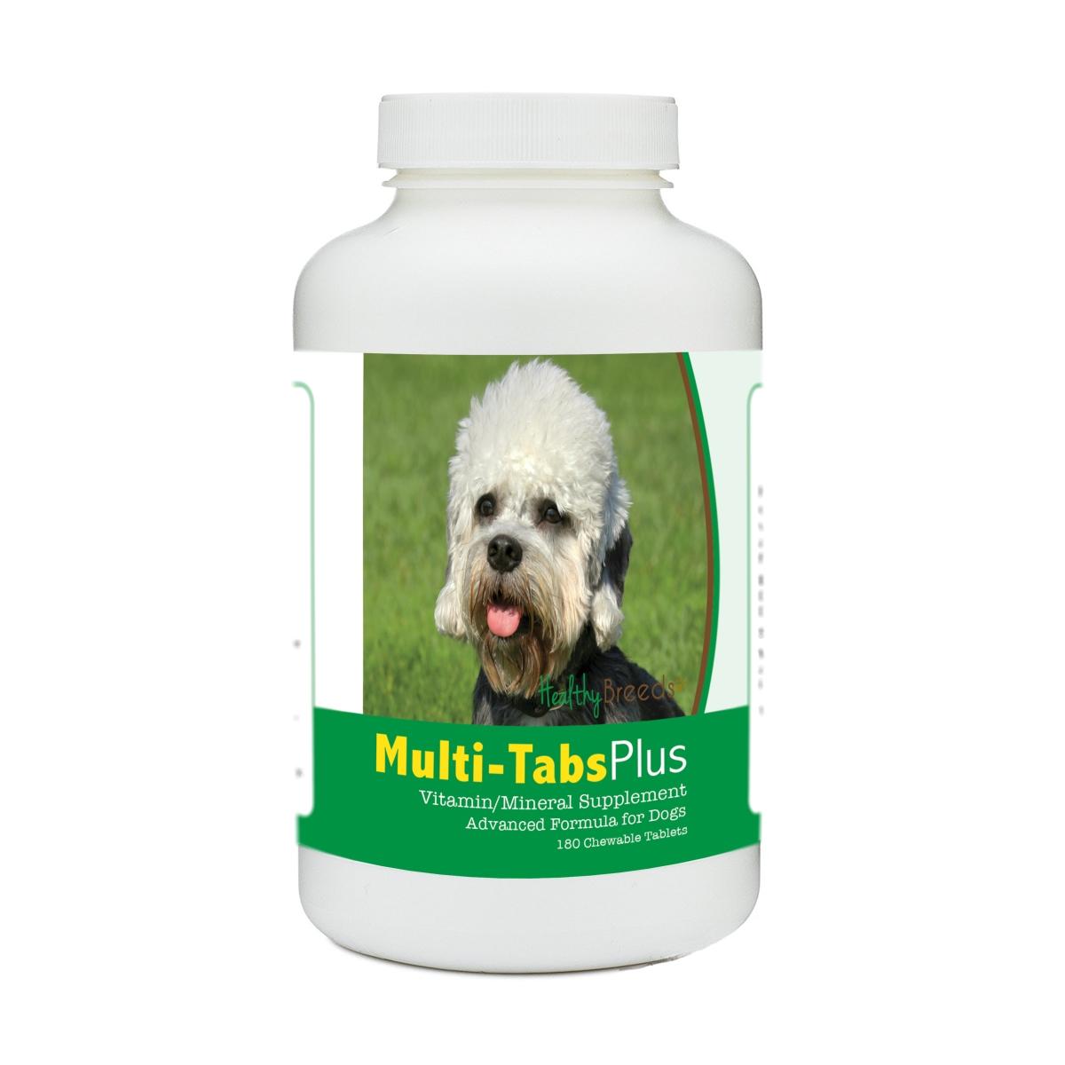 Healthy Breeds 840235172383 Dandie Dinmont Terrier Multi-Tabs Plus Chewable Tablets - 180 Count