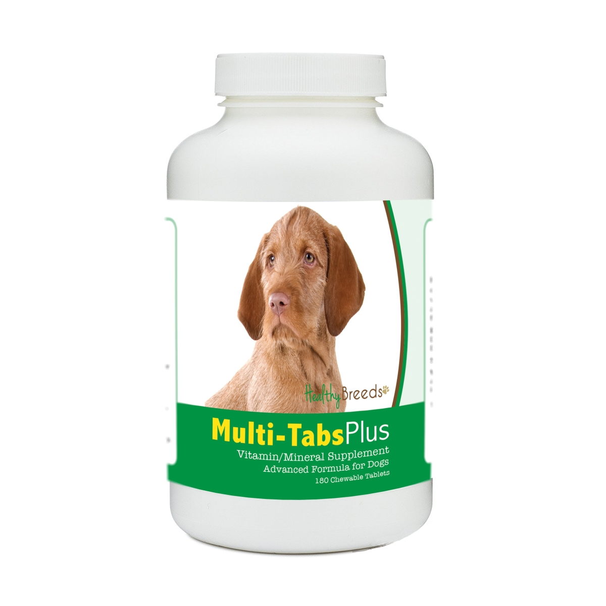 Healthy Breeds 840235172468 Wirehaired Vizsla Multi-Tabs Plus Chewable Tablets - 180 Count