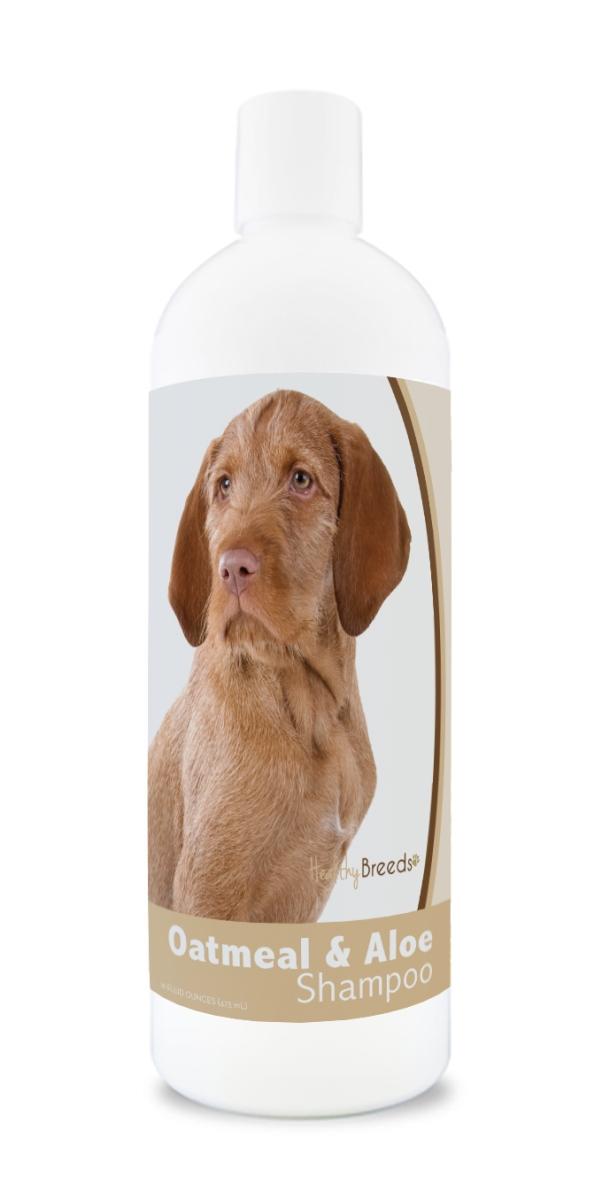 Healthy Breeds 840235172512 16 oz Wirehaired Vizsla Oatmeal Shampoo with Aloe